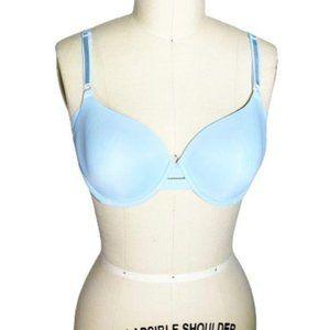 Warner's Baby Blue Underwire Bra 36B 01356